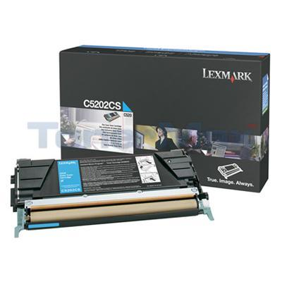 LEXMARK C520 C530 RP TONER CART CYAN 
